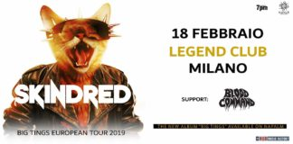 Skindred e Blood Command in Italia 2019, Legend Club Milano
