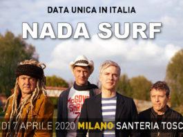 nada surf milano
